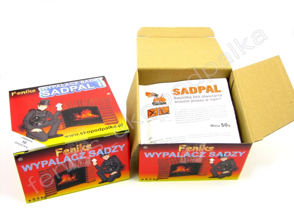wypalacz sadzy SADPAL 10x50g