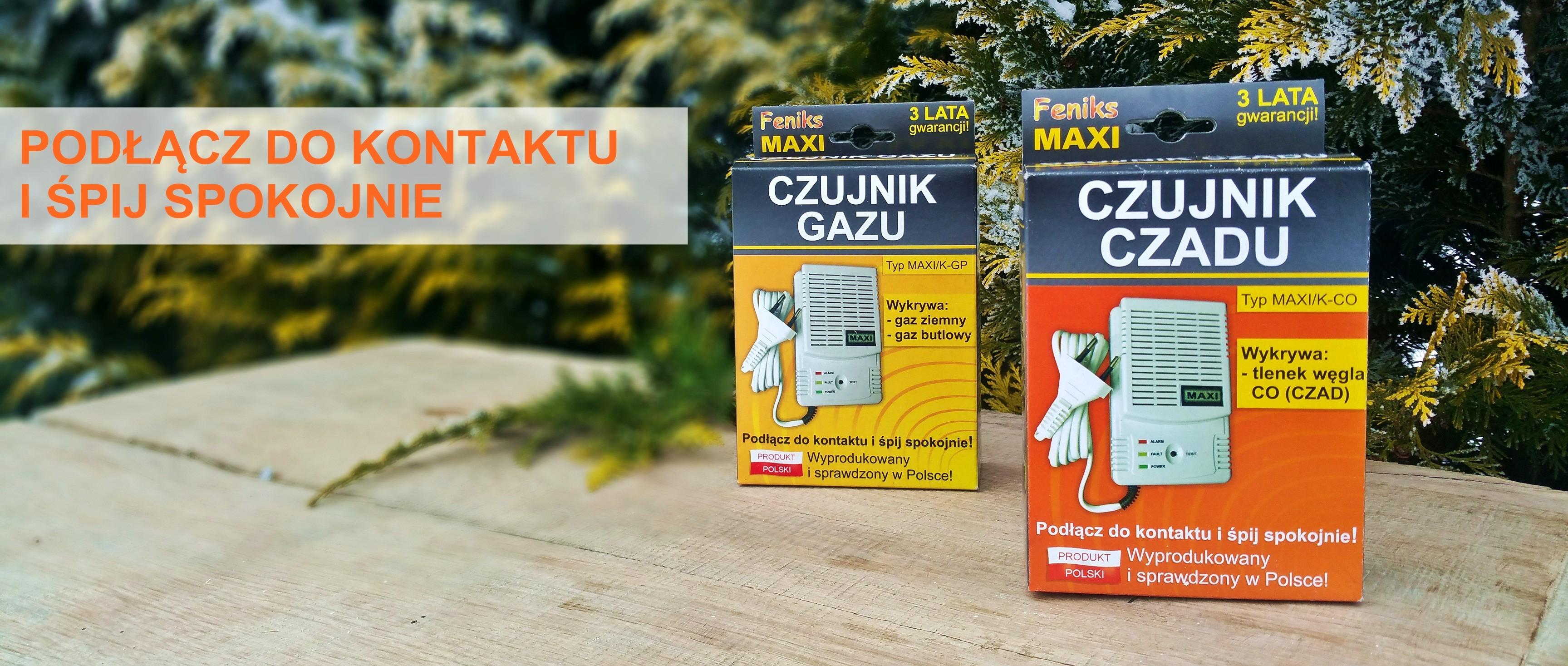 Czujniki Feniks Maxi - Gwarancja bezpieczeństwa w Twoim domu!